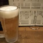 肴屋しんたく - キンキンのビールでよ~いドン。
