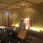 寿司・日本料理 さわ田 - 内観4:海鮮丼部屋