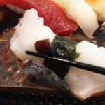玄海鮨 - タコ です  この日のタコ美味しかった。