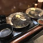 キセキ食堂 - キセキ食堂(埼玉県上尾市本町)キセキ定食(カツ)・ろーすステーキ(180g)単品〜完食!