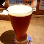 福島クラフトビールキッチンPOGO - RED ROSE AMBER ALE♪