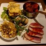 福島クラフトビールキッチンPOGO - 前菜の盛り合わせ♪