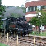 9651130 - 三笠見どころ 鉄道博物館のSLに乗れます