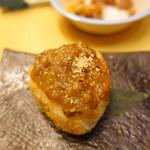 旬彩庵 - 麦みそおにぎり?