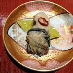 こんみど - 牡蠣のオリーブ漬け