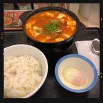 96518727 - 豆腐チゲ鍋膳 630円