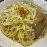円熟屋 - 野菜魚介豚骨ラーメン\590