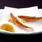 天ぷら新宿つな八 - 冬に美味しい『わかさぎ』
