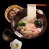 五代目 花山うどん - 料理写真:うどん天下一決定戦三連覇メニュー鬼釜になります。