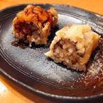 鮨ふるかわ - 穴子 タレと塩で
