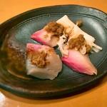 鮨ふるかわ - 九州の生胡麻サバ