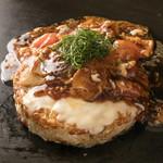 京ちゃばな - 豚肉&チーズ トマトお好み