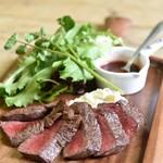 京ちゃばな - 黒毛和牛のステーキ