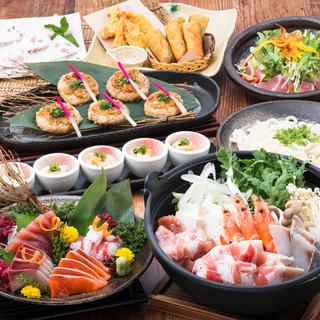 【冬限定】お料理9品飲み放題付4,200円冬の食材堪能コース
