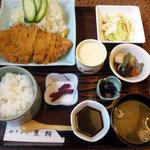 ほうりん - 元祖とんかつ定食