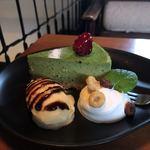 ハックベリー - 大和茶のNYチーズケーキ(650円)