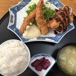 いなか家定食の店 - 料理写真:カツ海老定食750円