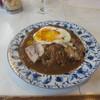 カレーショップデリー - 料理写真:焼豚玉子カレー