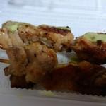 炭焼き焼鳥 鳳 - 料理写真:しお、わさび