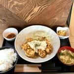 つばき食堂 - チキン南蛮定食:780円+税