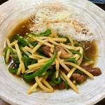 つばき食堂 - 青椒肉絲(単品):680円+税