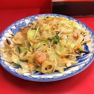 香蘭 - 料理写真:2018.08 皿うどん