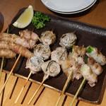 串DINING桜山 - エノキ肉巻&梅シソ肉巻&アスパラ肉巻