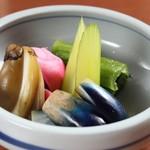 酒菜一 - 料理写真:漬物盛り合わせ