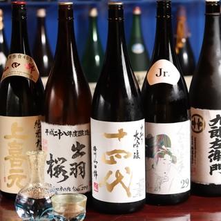 ここでしか味わえない山形県産酒