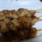 炭火焼鳥 一石二鶏 - 料理写真:ニンニク