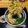う道 - 料理写真:かき揚げぶっかけ