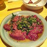 翼富士 - 料理写真:肝の造り