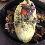 シンパティカリモーネ - 彩り野菜とイタリアンハーブのオムライス