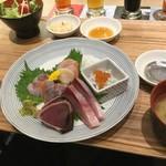 海キッチン キノサキ - 漁港直送お刺身定食