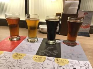 海キッチン キノサキ - クラフトビール 4種飲み比べセット