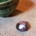 96553067 - 塩のお皿…可愛いサイズ