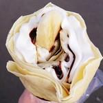 みなみでかふぇ - 料理写真:バナナチョコクリーム 340円 2018/11