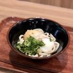 天つるり - 料理写真:温玉ぶっかけうどん☆