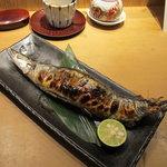 旬の味 たき下 - 大ぶりの秋刀魚・・・