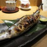 旬の味 たき下 - 秋刀魚