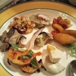 ドゥオモ - 前菜盛り合わせ