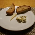 ファニエンテ - ペコリーノチーズとブルーチーズ
