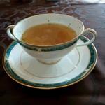 ホテルオークラ レストラン ニホンバシ - 本日のスープ