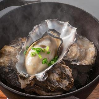 冬到来!兵庫県産極上ブランド牡蠣でかぷり&サムライオイスター