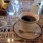 cafe 茶豆 - ホットコーヒー