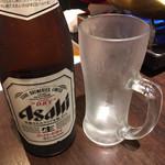 本格火鍋専門店 蜀一冒菜 - 瓶ビール