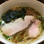 中華そば いぶき - 料理写真:いりこそば