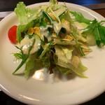 お好み焼彦兵衛 - お好み焼きランチのサラダ