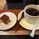お好み焼彦兵衛 - お好み焼きランチのデザート・コーヒー
