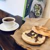 パニーノ専門店 ポルトパニーノ - 料理写真:今回いただいた、「シチリア産アンチョビ・バター」のパニーノと「ホットピーチティー」です(2018.11.15)